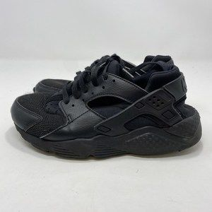Nike Kids Black Huaraches Sneakers Size 6Y A126